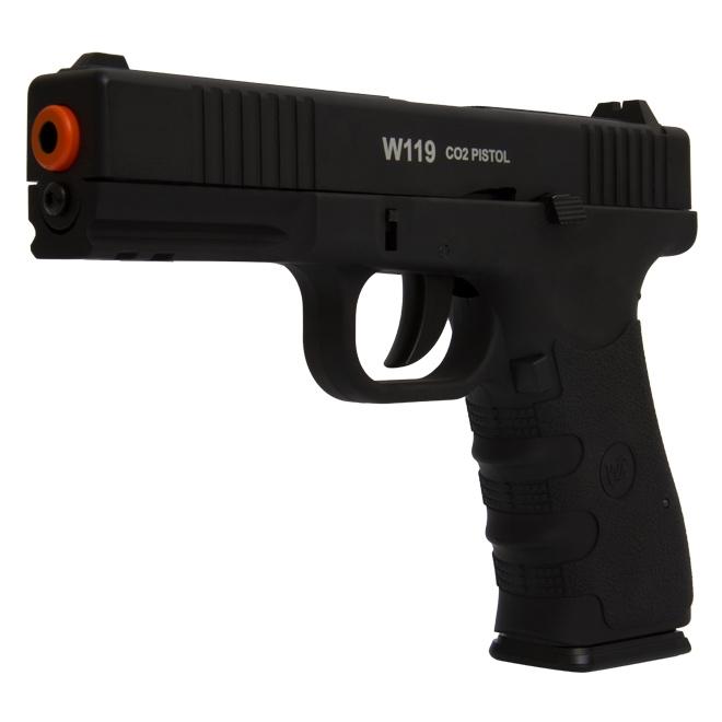 pistola airsoft wingun w119 3 - Pistola Airsoft WinGun W119