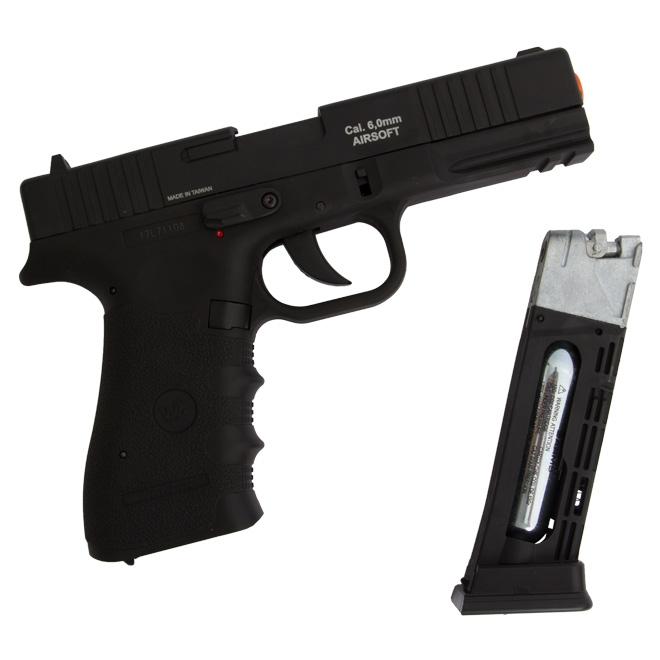 pistola airsoft wingun w119 5 - Pistola Airsoft WinGun W119