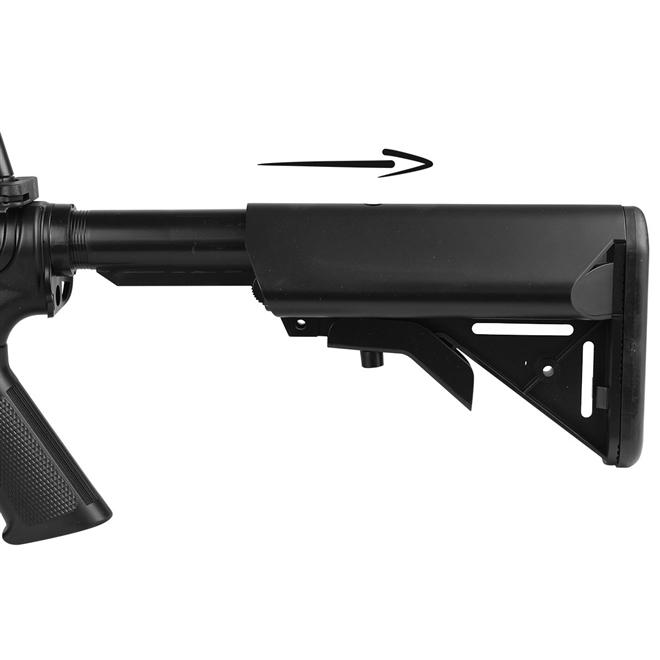 rifle airsoft cyma m4a1 cqb ris cm5060 3 - Rifle Airsoft Cyma M4A1 CQB RIS (CM5060)