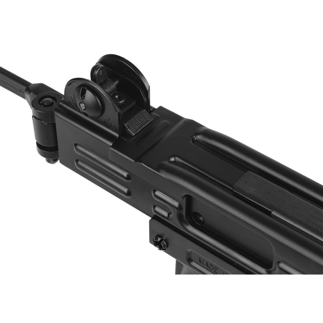 rifle airsoft sub metralhadora kwc uzi 3 - Rifle Airsoft Sub-Metralhadora KWC Uzi