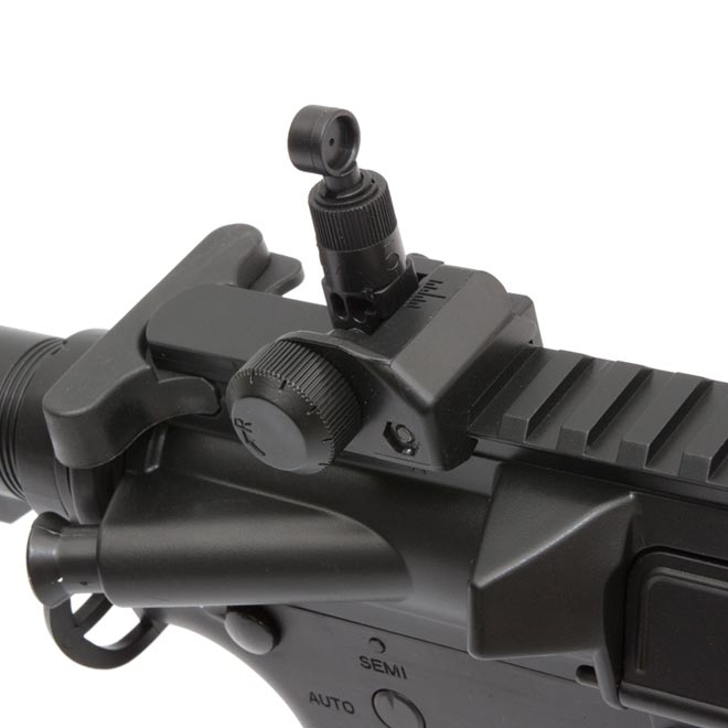 rifle de airsoft aeg cyma m4a1 cm518 black 4 - Rifle de Airsoft AEG CYMA M4A1 CM518