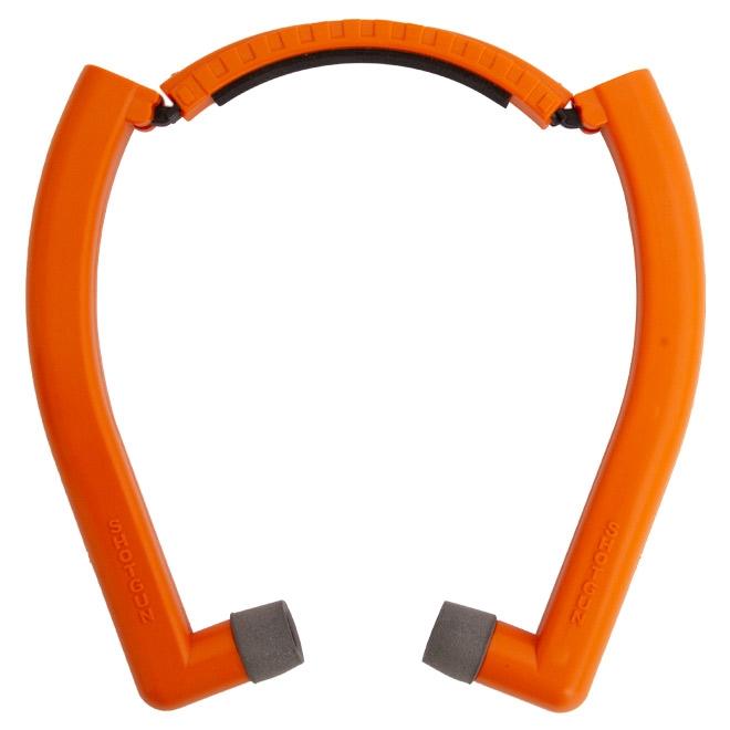 abafador de tiro noise canceling laranja 1 - Abafador de Tiro Noise Canceling Laranja