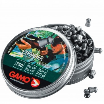 chumbinho gamo expander 4.5mm 366x366 - Chumbinho Gamo Expander 4.5mm