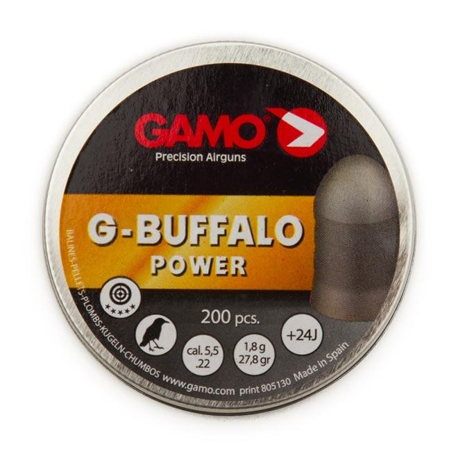 chumbinho gamo g buffalo 55mm 1 - Chumbinho Gamo G-Buffalo Power 5.5mm