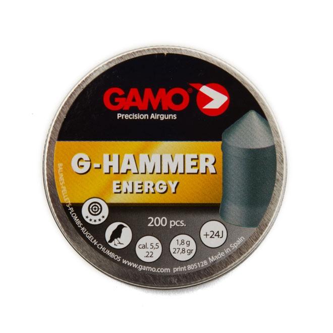 chumbinho gamo g hammer energy 5.5mm 1 - Chumbinho Gamo G-Hammer Energy 5.5mm