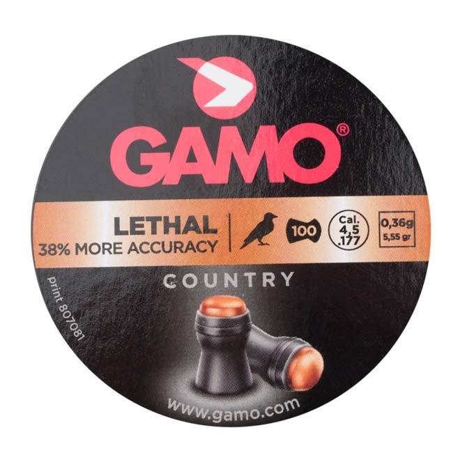chumbinho gamo lethal 4.5mm 1 - Chumbinho Gamo Lethal 4.5mm