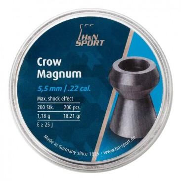 chumbinho hn crow magnum 5.5mm 3 366x366 - Chumbinho H&N Crow Magnum 5.5mm