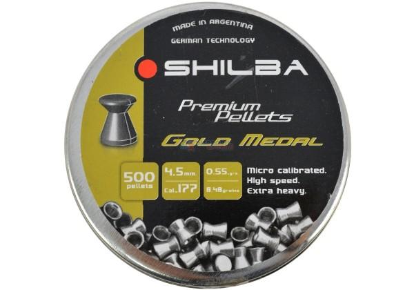 chumbinho shilba gold medal 45mm - Chumbinho Shilba Gold Medal 4,5mm