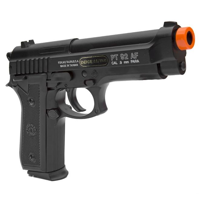 pistola airsoft taurus pt92 slide metal 1 - Pistola Airsoft Taurus PT92 Slide Metal