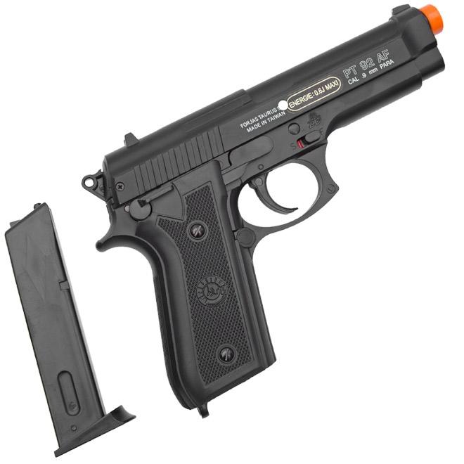pistola airsoft taurus pt92 slide metal 2 - Pistola Airsoft Taurus PT92 Slide Metal