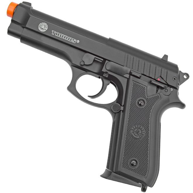 pistola airsoft taurus pt92 slide metal 4 - Pistola Airsoft Taurus PT92 Slide Metal